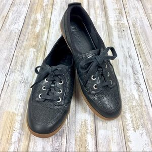 Timberland | Earthkeepers Black Oxford Sneakers